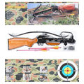 Упаковка и комплектация деревянных арбалетов для охоты Mankung MK150
